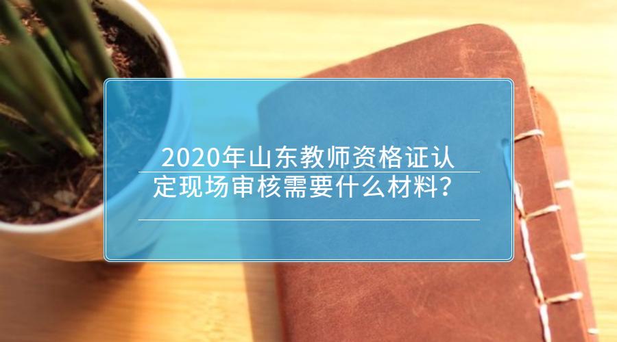 2020年山东教师资格证认定现场审核需要什么材料?